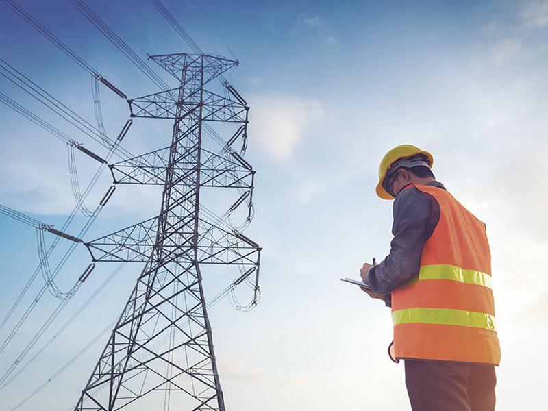 Mesures des ondes de réseau électrique
