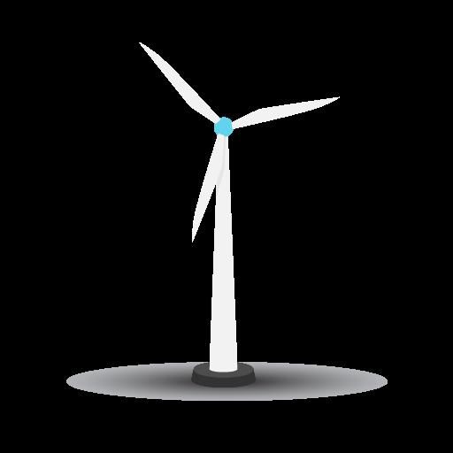 Les éoliennes sont des sources d'ondes électromagnétiques